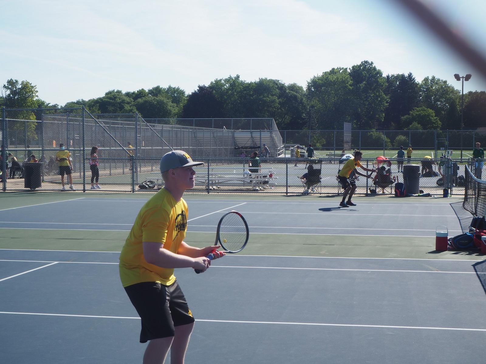 North Farmington Varsity Tennis